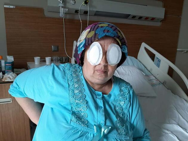 Ruh sağlığı hastenesinde oda arkadaşı gözlerini oydu