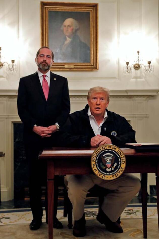 Trump'tan 8,3 milyar dolarlık imza