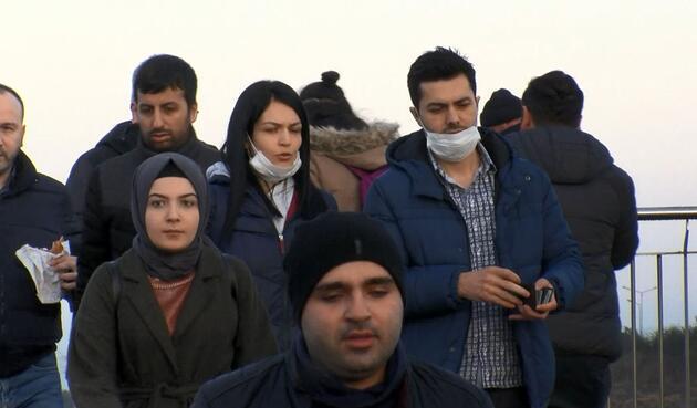 İstanbul'da vatandaşların koronavirüs önlemi