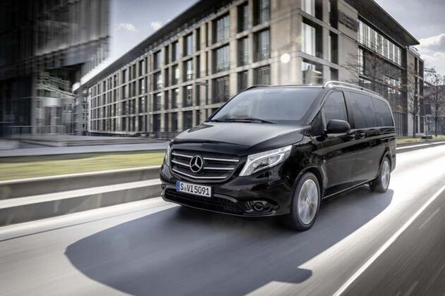 Mercedes 'Vito' dijital yenilendi