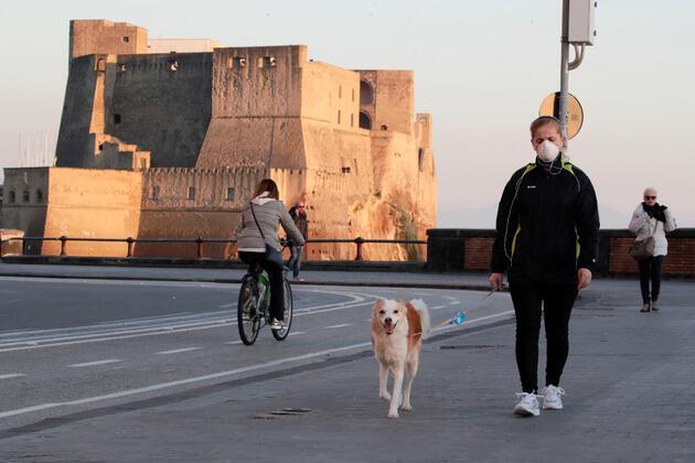 Kabus sürüyor! İtalya'da bir günde 196 kişi hayatını kaybetti