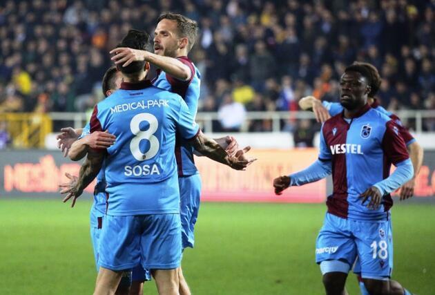 Trabzonspor Malatya'dan lider çıktı