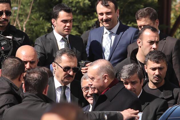 Cumhurbaşkanı Erdoğan'ın cuma namazı sırasında termal kameralı önlem