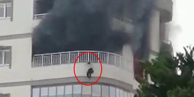 Mersin'de feci olay: Talihsiz kadın 8. kattan aşağı düştü