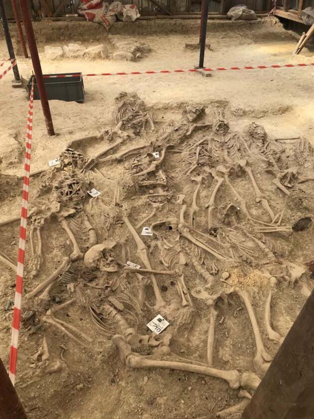 108 yıl sonra 30 şehidin mezarına ulaşıldı