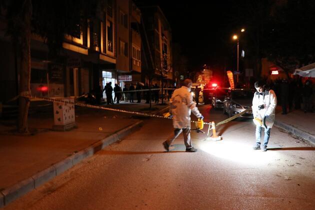 İş adamına evinin önünde silahlı saldırıda öldü
