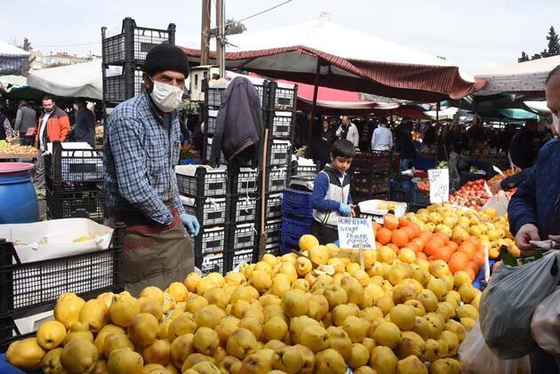 Semt pazarlarına koronavirüs etkisi