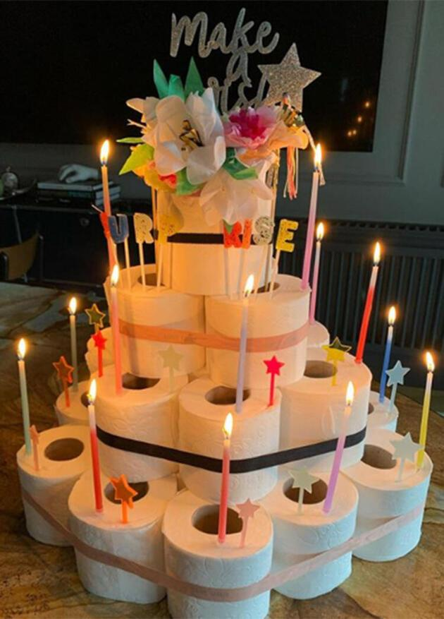 Rachel Araz Kiresepi'den tuvalet kağıtlı pasta