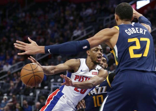 NBA'deki Detroit-Utah maçından bir koronavirüs haberi daha