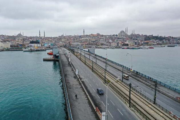 İstanbul'da koronavirüs sessizliği