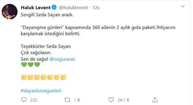 Haluk Levent'in koronavirüs çağrısına ünlü isimlerden büyük destek!