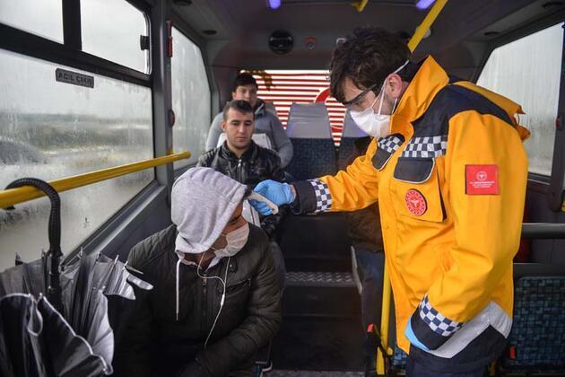 İstanbul giriş ve çıkışlarında 'koronavirüs' denetimi