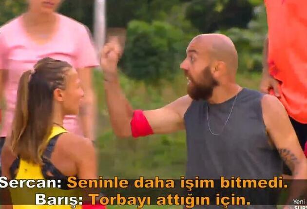 Survivor'da Barış ve Sercan arasında şok kavga! Acun'dan Sercan'a sert uyarı!