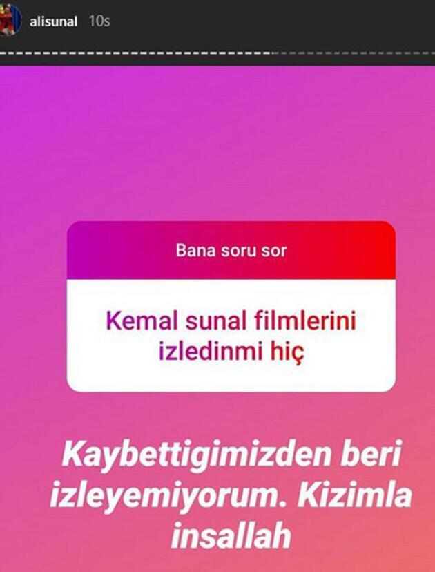 Ali Sunal'dan flaş 'Kemal Sunal filmleri' itirafı!