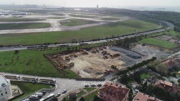 Atatürk Havalimanı'nda hastane çalışmaları başladı