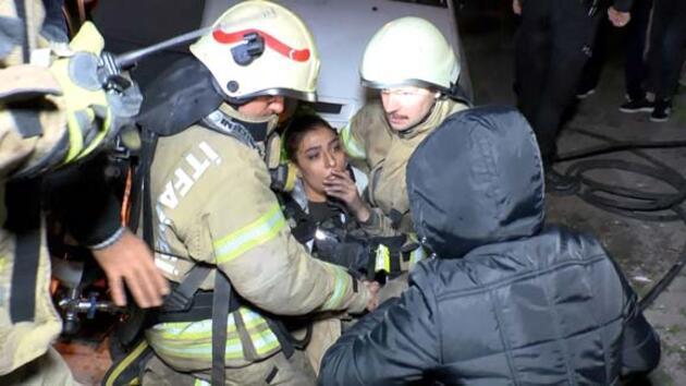 Güngören'de doğalgaz patlaması: 1'i ağır 4 yaralı