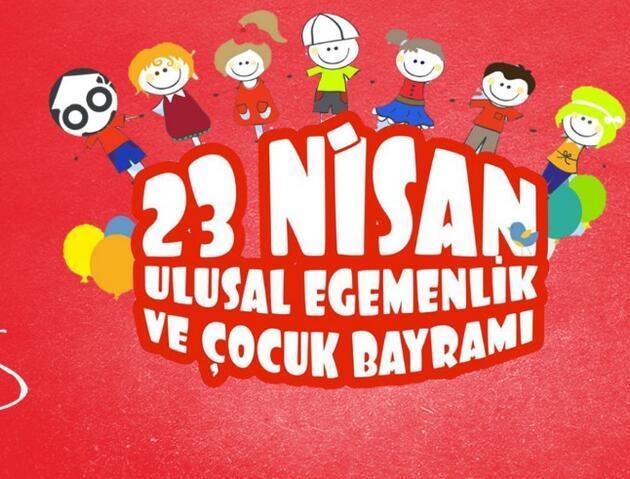 Resimli 23 Nisan mesajları: 23 Nisan Ulusal Egemenlik ve Çocuk Bayramı ile ilgili görseller