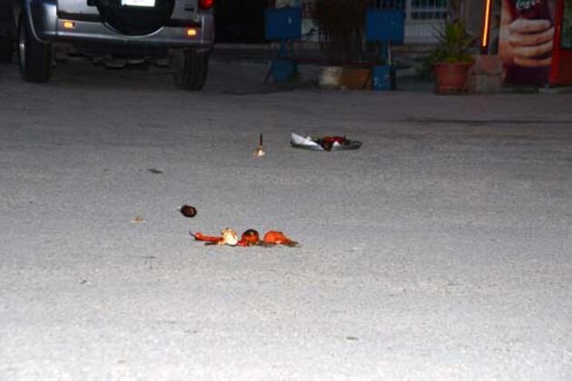 İftar yemeğini eve götürürken silahlı saldırıya uğradı