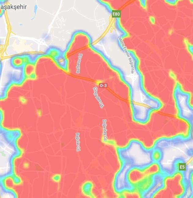 Sağlık Bakanlığı yeni koronavirüs haritasını yayınlandı! O ilçelerde dikkat çeken yoğunluk
