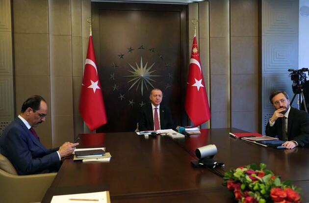 Cumhurbaşkanı Erdoğan, Cerrahpaşa'da tedavi gören hastalarla görüştü