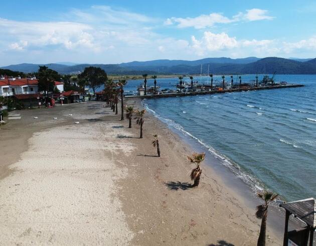 Turizm merkezlerinin dünyaca ünlü sahillerinde sessizlik hakim