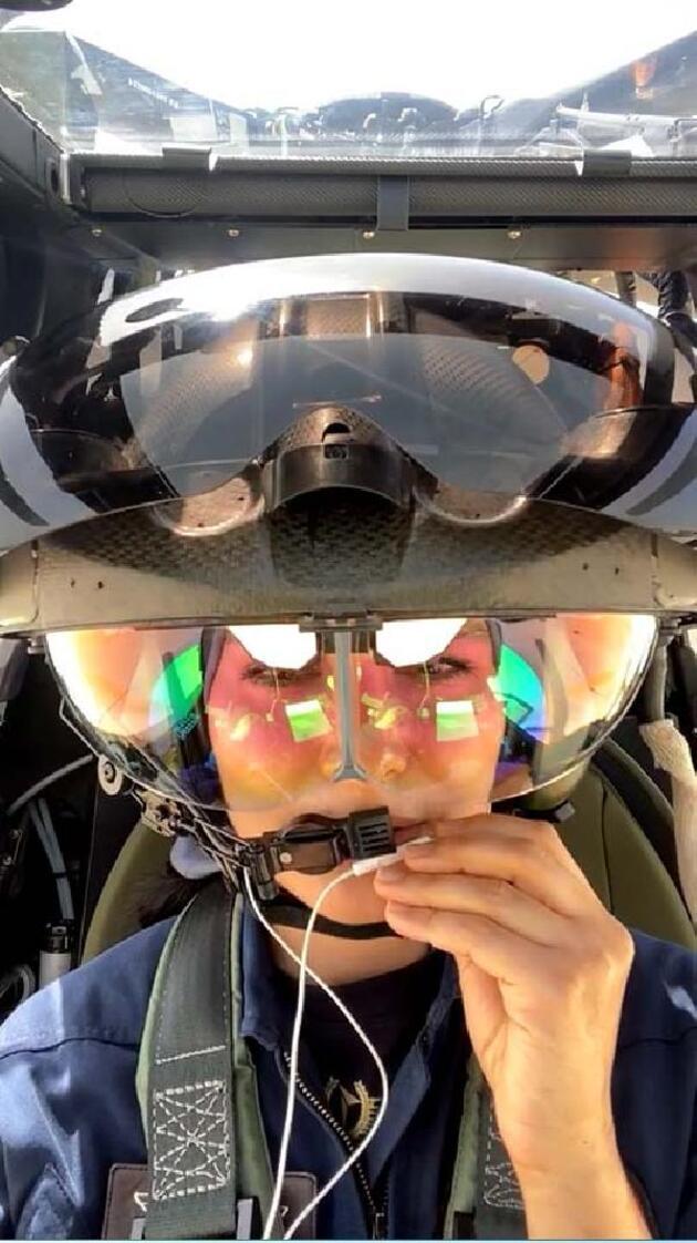 ATAK kokpitinden özel uçuşta canlı yayın