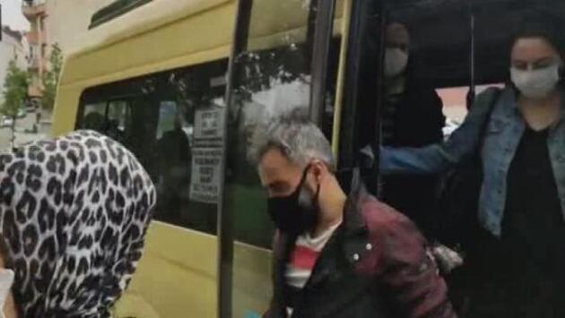Minibüs denetimleri sürüyor: 16 fazla yolcu çıktı
