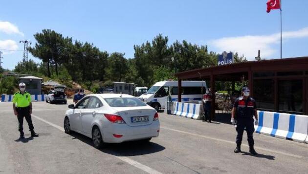 Bodrum'a tatilci akını başladı