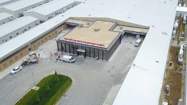 Yeşilköy'deki pandemi hastanesinde son durum