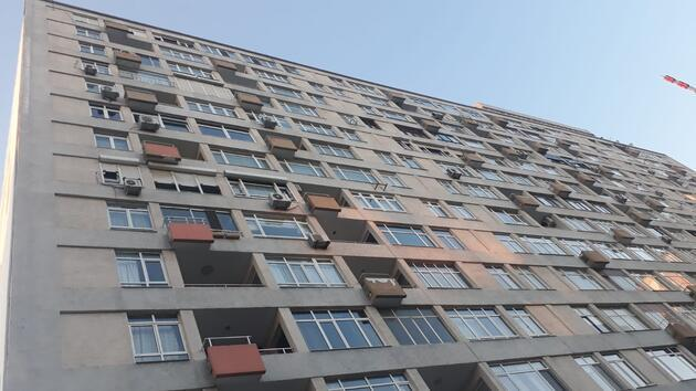 17'nci kattan düşen adam feci şekilde can verdi