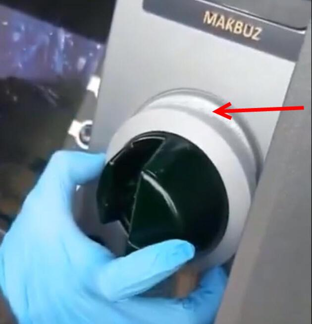 ATM'den para çekerken gizli tehlikeye dikkat!