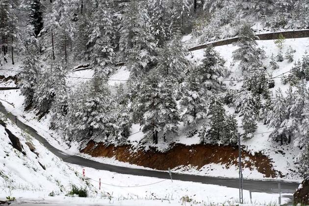 Doğu Karadeniz'de kar kalınlığı 20 santimetreyi aştı