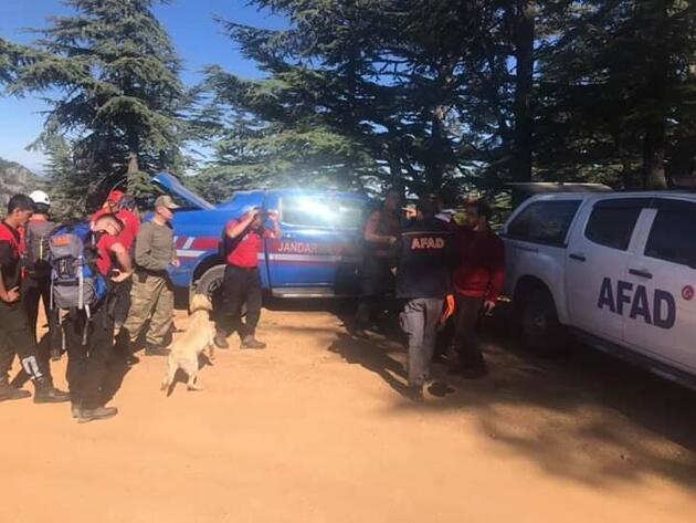 Kayıp dağcıyı arama çalışmalarında 12'nci gün