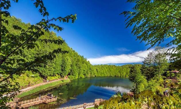 Doğa harikası Ulugöl'de koronavirüs sessizliği!