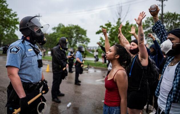 ABD'de öfke büyük: Halk sokaklara döküldü!