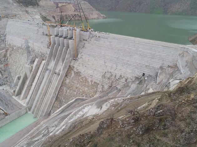 Bakan Pakdemirli: Avrupa'nın en büyüğü Çetin Barajı'nda enerji üretimi başladı