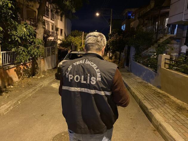İzmir'de korkunç cinayet! Evinin önünde vahşice öldürüldü