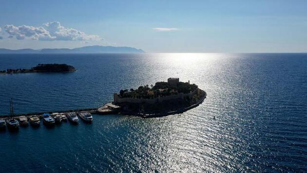 Güvercinada Kalesi, UNESCO Dünya Mirası Geçici Listesi'ne girdi