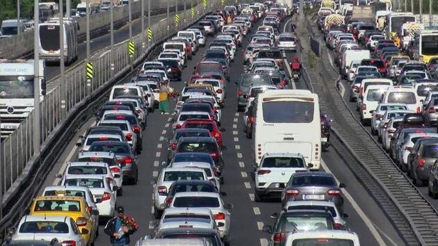 Son dakika... İstanbul trafiğinde son durum