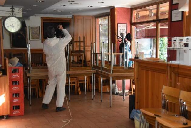 Kafe ve restoranlar normalleşme sürecine hazır
