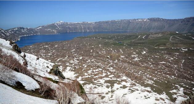 """Yeryüzü cenneti """"Nemrut"""" ile Anadolu'nun """"Orhun Abidelerinde"""" Kovid-19 sessizliği"""