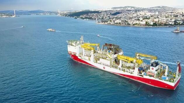 Fatih Sondaj Gemisi, Trabzon'da olacak