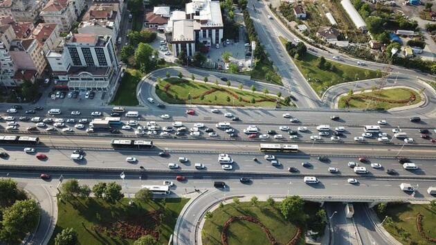 Son dakika... Yeni normalin ilk akşamı trafik yoğunluğu