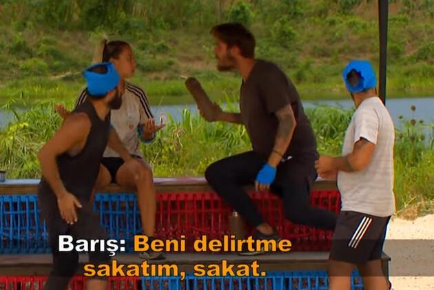 Survivor 95. bölümde flaş kavga!  Barış, Evrim'e...