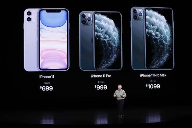 Telefon satışlarında en çok darbeyi Apple aldı