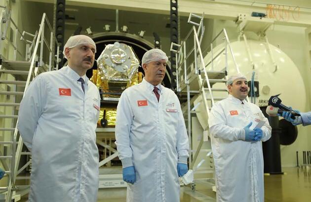SON DAKİKA... İlk yerli ve milli yer gözlem uydusu gelecek yıl uzaya fırlatılacak