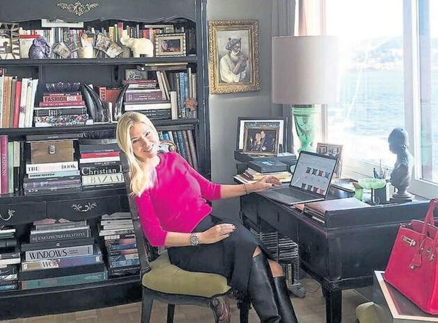 Evden çalışan ünlülerin çalışma ortamı