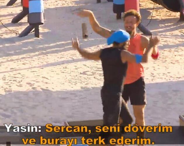 Survivor 2020'de Yasin Obuz-Sercan Yıldırım kavgası!