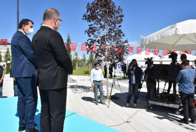 Anadolu'nun en büyük millet bahçesi açıldı