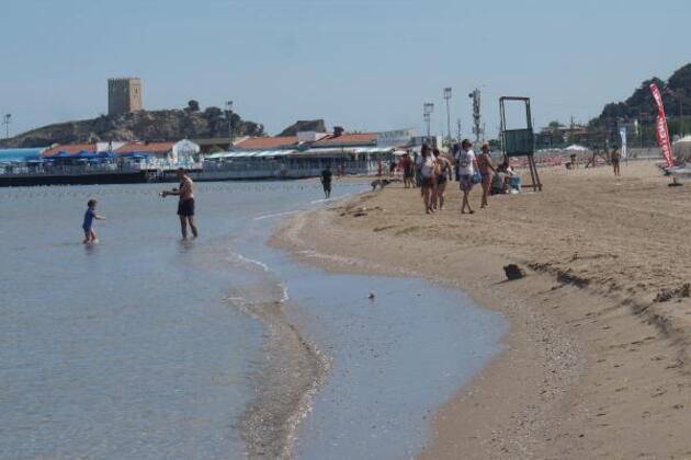 Şile'de plajlar hareketleniyor